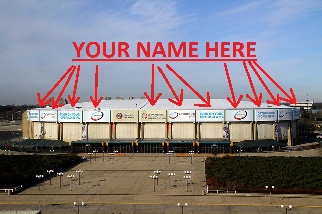 your name here coliseum